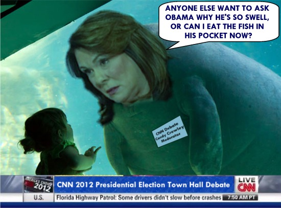 bill gates living room aquarium cnndebate 21904