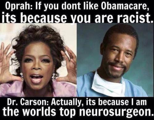 Carson vs Oprah