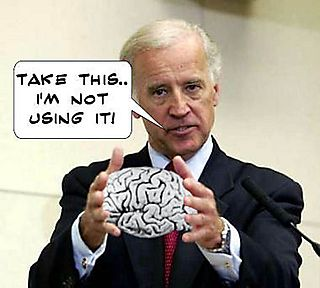 Joe Biden No Brain