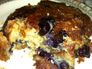 Blueberry pancakes Sarah F