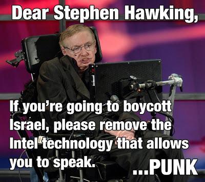 Stephen Hawking boycott
